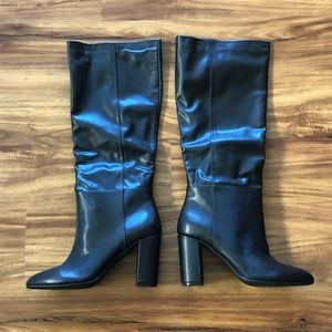 Chinese Laundry Black Boots New sz 9